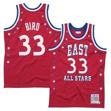 Larry Bird Mitchell & Ness 1983 NBA All Star East auténticas Rojo Jersey para hombre