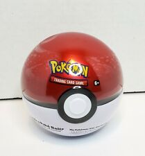 Pokemon Pokeball Tin Metal Pokeball Includes Booster Packs and Special Coin