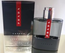 Prada LUNA ROSSA CARBON 50ml (1.7 Fl.Oz) Eau De Toilette EDT NEW & CELLO SEALED