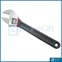 "Spanner Wrench Adjustable 12"" Large 300mm Opening Bathroom Nut Key Hand Tool DIY"