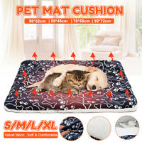 Pet Washable Home Blanket Large Dog Bed Cushion Mattress Kennel Soft Crate Mat