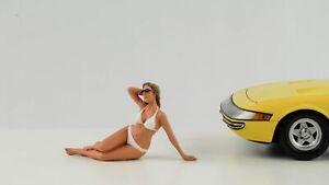 Bikini Girl Frau Calender June Figur 1:18 American Diorama