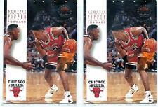 SCOTTIE PIPPEN (Lot of 2) 1993-94 93-94 Skybox Premium #47 - Chicago Bulls