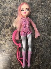 2013 Mga Bratz Doll Cloe Pink Hair Twisty Style Long Straight Hair Beautiful