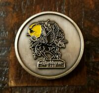 "NIGHT STALKERS Don't Quit Darkhorse 2 - 160th SOAR Challenge Coin 1-3/4"" Round"