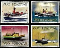 Faroe Islands #232-235 Fa229-232 MNH CV$5.70