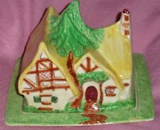 Wadeheath Disney Art déco Blanche Neige et sept nains Fromage Cottage Plat resta...