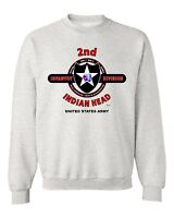 """2ND INFANTRY DIVISION"""" INDIAN HEAD"""" BATTLE & CAMPAIGN SWEATSHIRT"""