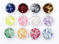 Chunky Hexagon Mylar Ice Flakes Nail Art Glitter Festival Dance Party