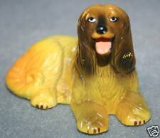 New-Ray Rubber Dog Figure Afghan Hound