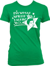 Im What Willis Was Talkin Bout Different Strokes TV Funny Humor Juniors T-shirt