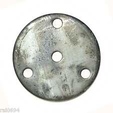 Ronden #1990 Ronde Ankerplatte  Durchmesser 50 mm Stahl 4 mm dick