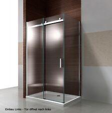 Parois de douche en verre NANO EX806, porte coulissante gauche, 90x120x195cm