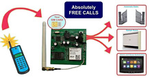 GSM - Wireless Single Station to Open Your Gate - 12V Unit