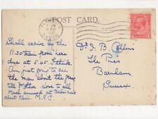 Dr JB Collins The Pines Barnham Sussex 1931  437a