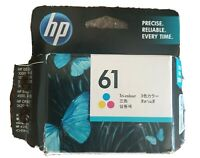HP 61 Genuine Tri-color Ink Cartridge. Exp 4/2019