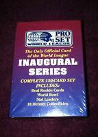 1991 Pro Set Football WLAF World League Inaugural Series Factory Sealed Mint Box