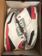 Air Jordan 3 Retro size 8 white fire red cement grey