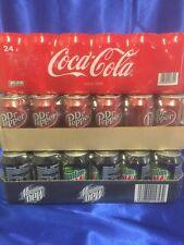 Coca Cola,Mountain Dew & Dr Pepper Classic je 24 x 0,33l Dose ( 72 Dosen Total )