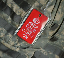 KANDAHAR WHACKER SP OPS OPERATOR: Keep Calm Patch + LUGGAGE/Tactical DayPack TAG