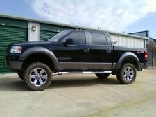 Paintable 2004-2008 FORD F150 Pocket Riveted Style Black Fender Flares Ez instal