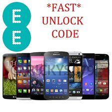 *FAST* EE Unlock code ALL SAMSUNG NOKIA HTC LG BLACKBERRY SONY HUAWEI IPHONE EE