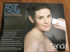 Tanda Clear+ Professional Acne Clearing BLUE LIGHT THERAPY TREATMENT + GEL  NEW!