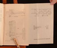 1929 Aeroplane Structural Design J.D. Frier T.H. Jones Very Scarce Illus
