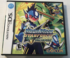 Mega Man Star Force Dragon Nintendo DS Case / Box And Artwork Only NO GAME
