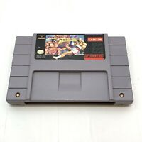 Super Street Fighter II 2 Turbo Nintendo SNES Game Authentic - Cartridge Only