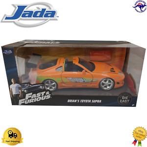 Diecast Model Car 1:24 Brian's Toyota Supra Fast & Furious Jada Licensed 97168