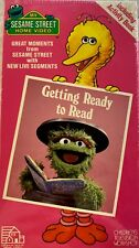 Sesame Street: Getting Ready To Read VHS Vintage 1986 RARE New COLLECTIBLE
