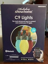 Holiday Show Home C9 Lights Set of 24 Color-Changing LED Bluetooth App 24' Feet
