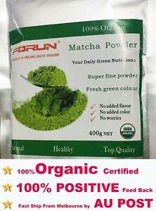 FORUN Organic Matcha,Green Tea Powder 400G- Free Fast Ship BY AU POST