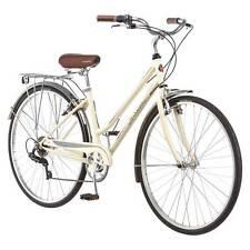"28"" 700C Schwinn Bike - Women's Gateway Hybrid Bike - Cream color"