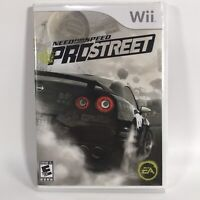 Need for Speed: ProStreet (Nintendo Wii, 2007) Multi-Player Racing COMPLETE
