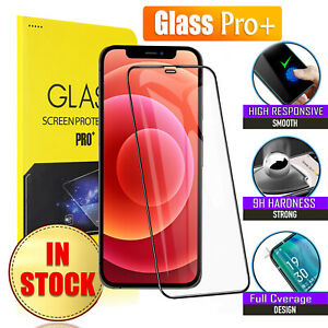 For iPhone 12 11 Pro Max 12 Mini XR X XS 8 7 6S Tempered Glass Screen Protector