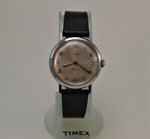 Vintage 1961 Timex Marlin Men's Mechanical Watch, Works Great