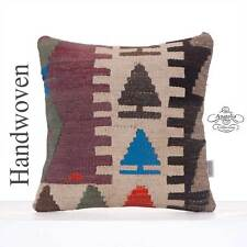Nomadic Decorative Cushion Cover 16x16 Anatolian Rug Sofa Throw Pillow