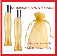 Lot Of 2 Eaux Of Toilette Timeless IN Vapo Of Chez avon : Ready To Gift