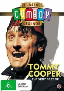 The Very Best Of Tommy Cooper (DVD) Brand New and Sealed Region 4