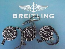BREITLING FACTORY SALES JEWELERS WATCH BLACK PLASTIC HANG TAG ALL RECENT MODELS