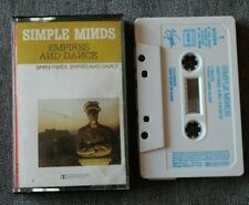 Simple Minds, empires and dance,  K7 audio / Audio tape