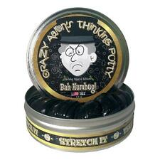 Crazy Aaron's Thinking Putty, BAH HUMBUG!, Ltd. Edition 2016 Coin Incl, 10cm Tin