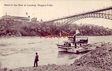 1913 MAID OF THE MIST AT LANDING, NIAGARA FALLS