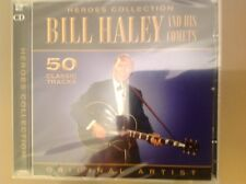BILL HALEY AND HIS COMETS CD - 50 CLASSIC TRACKS - HEROES COLLECTION - NEW