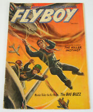 Flyboy #5 VG/FN may 1954 - golden age - st. john comics - war fly boy