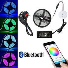 24V 10m rgb led strip light colour changing Bluetooth tape under cabinet kitchin