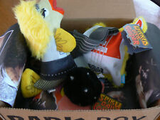 New listing Bark Box 3 Pc Dog Toys Rock N Roll Gina Grouper Spiky Guitar Wicked Tongue Nwt