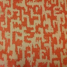Anna French All Over Abstract Upholstery Fabric- Slavisa/Orange 4.10 yd #AW26124